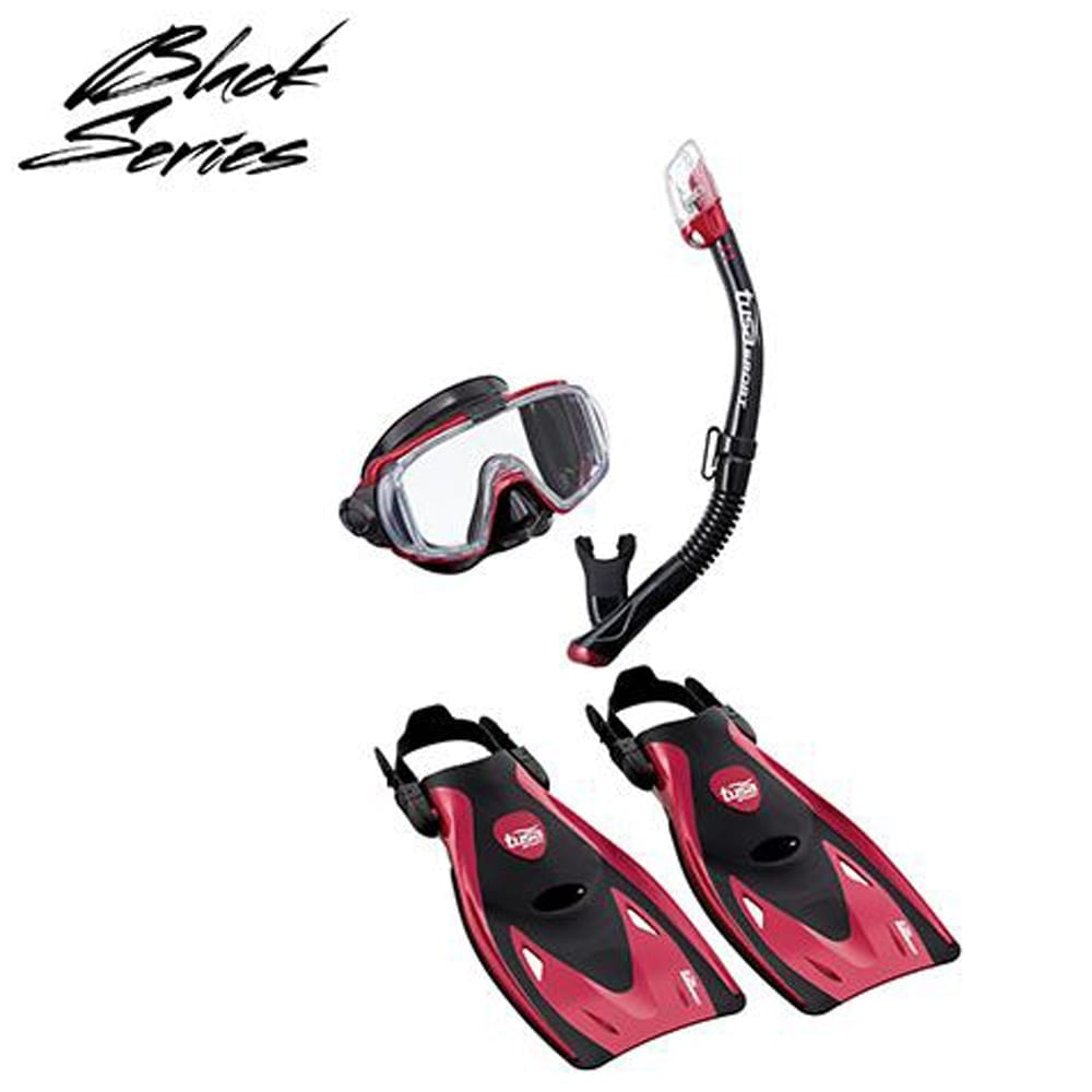 TUSA Sport VISIO Tri Ex Adult Snorkelling Travel set and Package