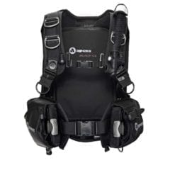 Apeks Black Ice BCD recreational scuba diving