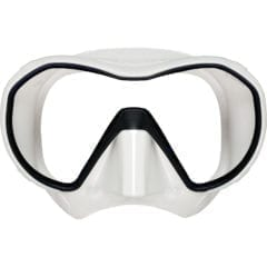 Apeks VX1 white scuba dive mask