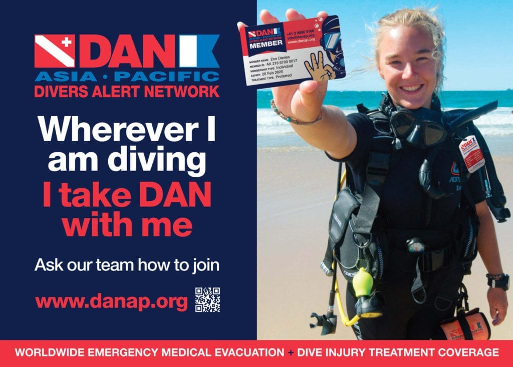 DAN World Scuba Diving Insurance