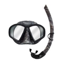 Phantom Camo Mask & Snorkel Set