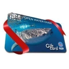 Padi Learn To Dive Gift Card