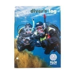 PADI Divers Log Book for Scuba Divers
