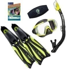 TUSA Visio Pro Snorkelling Package