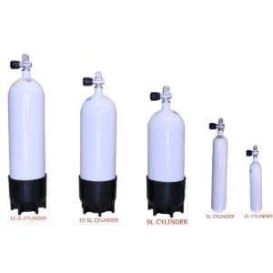FABER SCUBA DIVING TANKS CYLINDERS