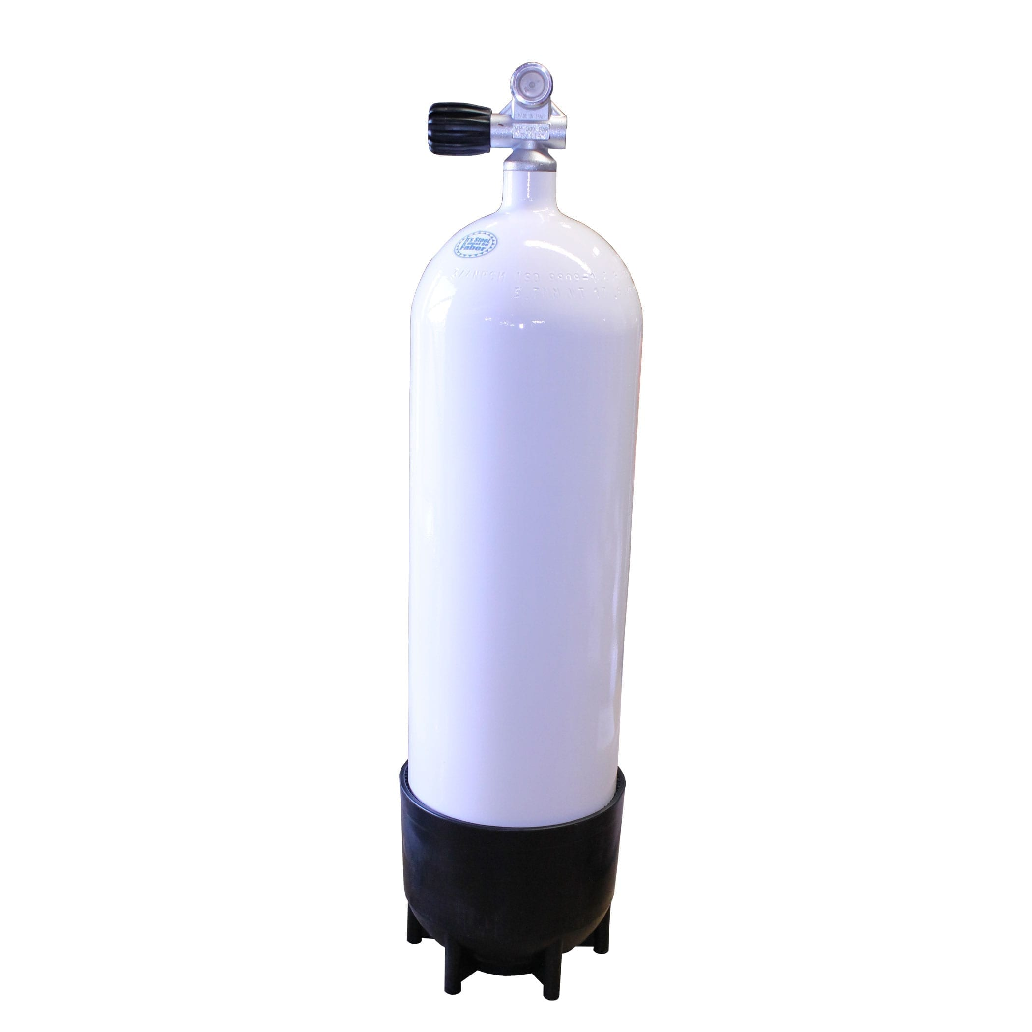 Faber 12 Liter 300 Bar HP Steel Diving Tank