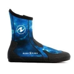 Aqua Lung Superzip Boots Blue