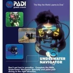 PADI Underwater Navigation Specialty Course