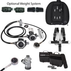 Apeks MTX-RC Twin Scuba Package Australia Technical Diving