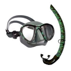 SV-S PELAGIO Camo Mask and Snorkel