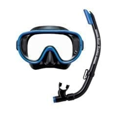 Reef Tourer Adult Mask and Snorkel Set Blue