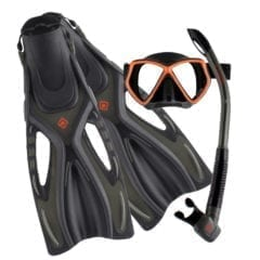 OceanPro Ceduna Snorkelling Package Orange