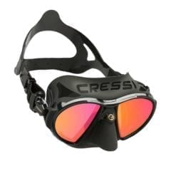 Cressi Zeus Black IRIDIUM Mask