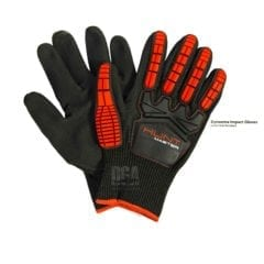 Huntmaster Gauntlet Diving Gloves Red