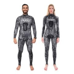 HuntMaster Spearfishing Rashguard Hooded - Silver