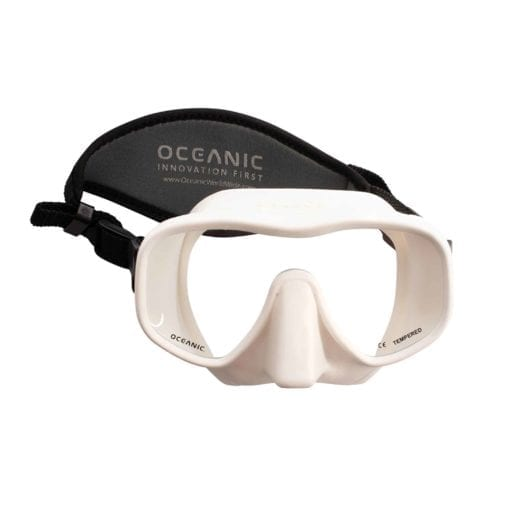 Oceanic-Shadow-Dive-Mask-white